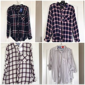 Tops - I am selling these 4 Rails Brand button ups